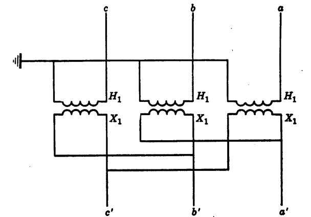 transformer. 8. Discuss the virtues of high-speed relaying. Fig. 18. Illustration for Review Problem 7. LINE