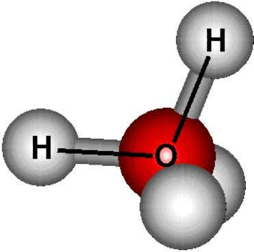 The figure 1 below show the example of molecular structure which is water molecule structure. Water