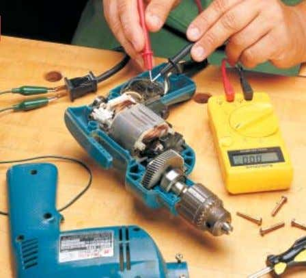 3 3 3 3 -Step -Step Portable Power Tool Tune-Up S queeze the trigger on a