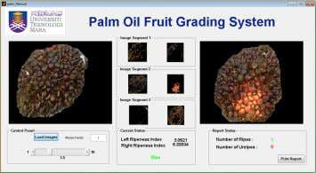 to classify and sort each fruit to its respective ripeness. Figure 1: Graphical User Interface (GUI)