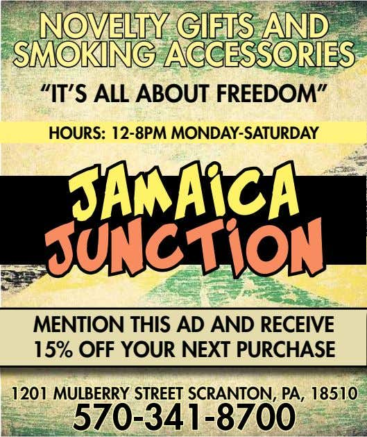 "NONOVELVELTYTY GIFTSGIFTS ANDAND SMOKINGSMOKING ACCESSORIESACCESSORIES ""IT'S ALL ABOUT FREEDOM"" HOURS: 12-8PM"