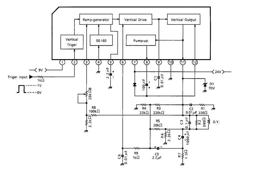 TA8445K APPLICATION CIRCUIT 5 2001-07-12