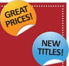 NEW TITLES! GREAT PRICES!