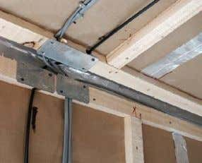 to be grouped and sealed effectively. Source: C. Morgan Service voids enable cables and pipe- work