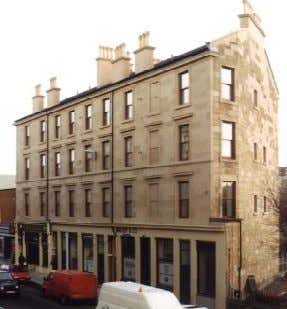 couple of potential air leakage sites. Source: P. Jennings. This Glasgow tenement was refur- bished using