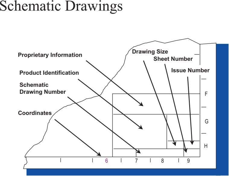 Schematic Drawings Proprietary Information Drawing Size Sheet Number Issue Number Product Identification Schematic