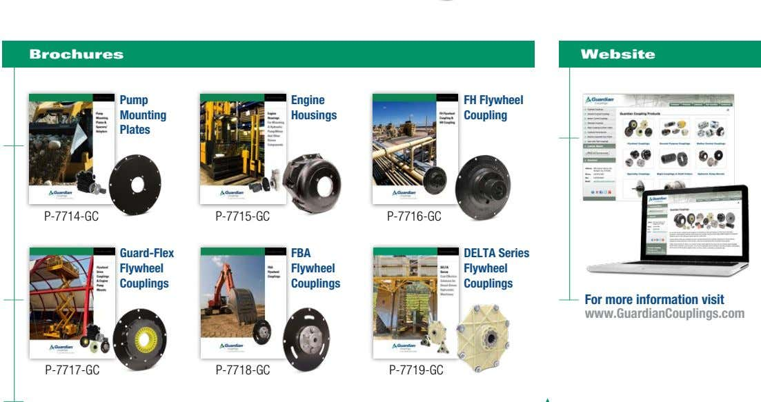 Brochures Website Literature Portal Conveniently download and request Altra's Pump Engine FH Flywheel latest