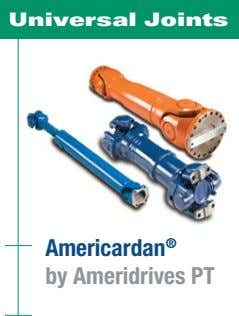 Universal Joints Americardan ® by Ameridrives PT