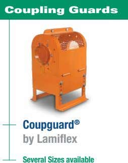 Coupling Guards Coupguard ® by Lamiflex Several Sizes available