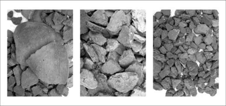POST-MIDDENISM Figure 10 The variable fragmentation of pottery in F. 754 (images taken at same scale).