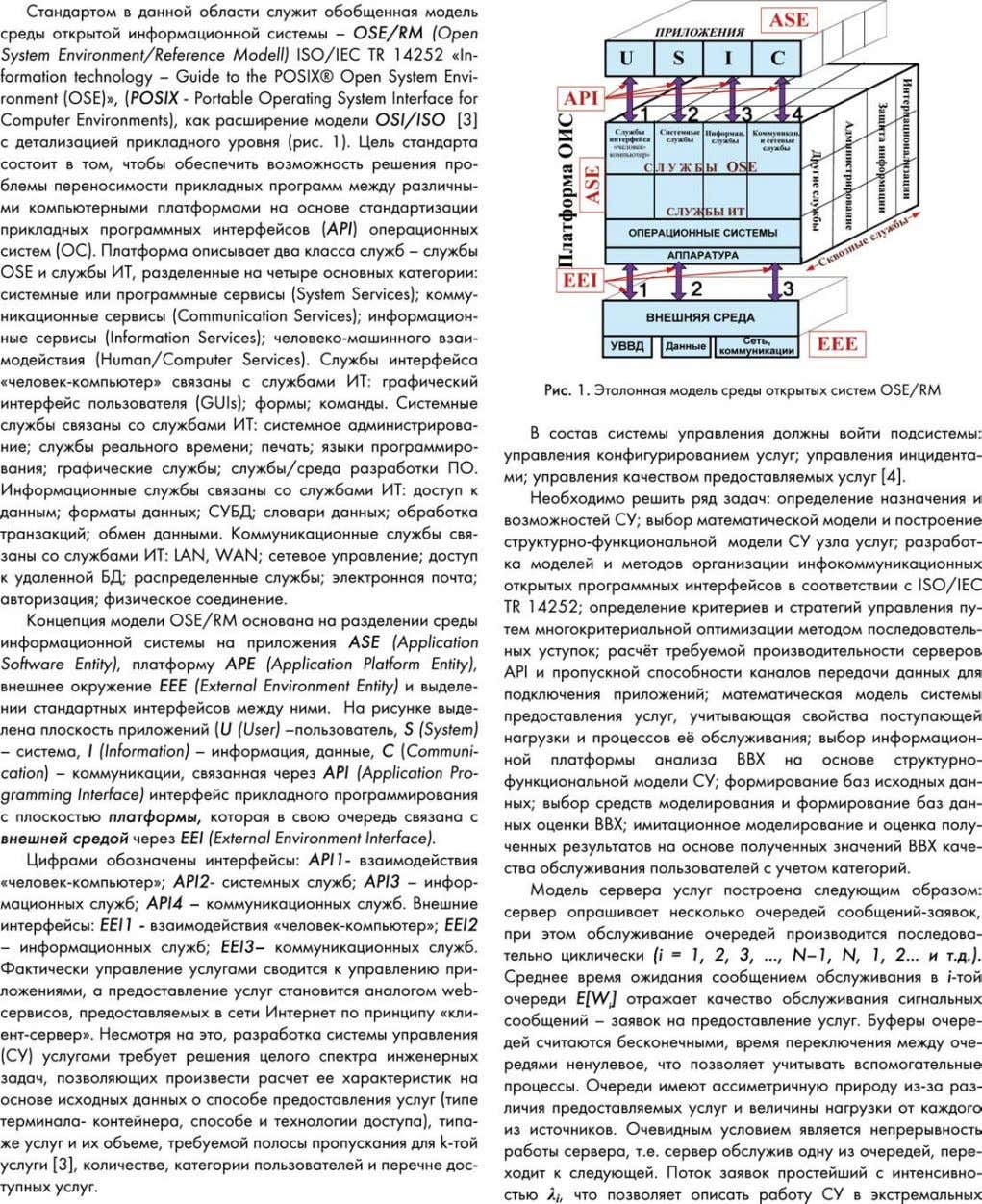 CONTROL SYSTEMS High technologies in Earth space research № 3 2012 21
