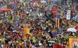 Nazarene procession S h a r ed by Visayan Business Post $ % & visayanbizpost.com -