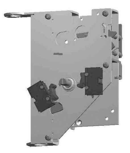 switches are located on the right side of cover plate. ABB Figure 5.24 Auxiliary switch. 54