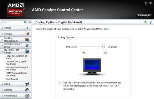 replaces the title 'Catalyst Control Centre'. The other problem – pixel format For AMD GPU users