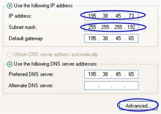 After that click OK and move to step 7. See Figure 14 Figure 14. Change IP-address