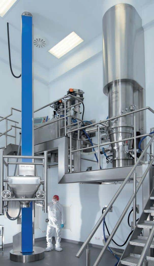 for full integration and optimum process efficiency. Fluid Bed Processing Process filters In granulation, drying,