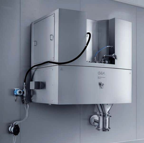 and reducing both downtime and the risk of contamination. The UltimaPro™ can be equipped with a
