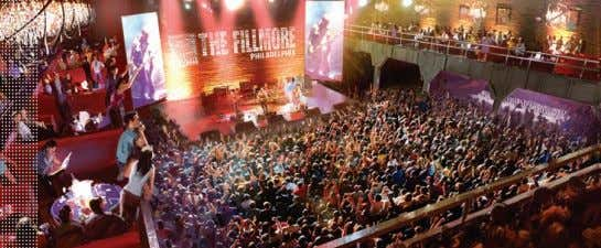 VENUES There are many places to see great music in and outside of Philly. From the