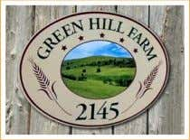 "Carved & Sandblasted Residential signs from $ 399.99 * *single sided 18"" x 12"", design"