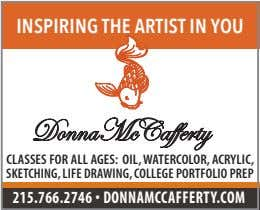 INSPIRING THE ARTIST IN YOU DonnaMcCafferty CLASSES FOR ALL AGES: OIL, WATERCOLOR, ACRYLIC, SKETCHING, LIFE