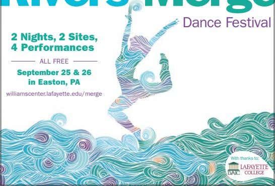 Dance Festival 2 Nights, 2 Sites, 4 Performances ALL FREE September 25 & 26 in
