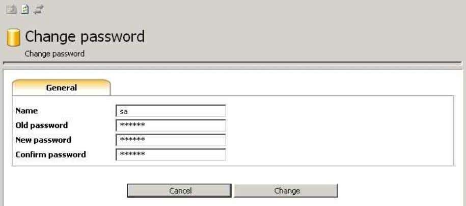 myLittleAdmin for MS SQL Server 6.11. Change password This wizard helps you change your login password.