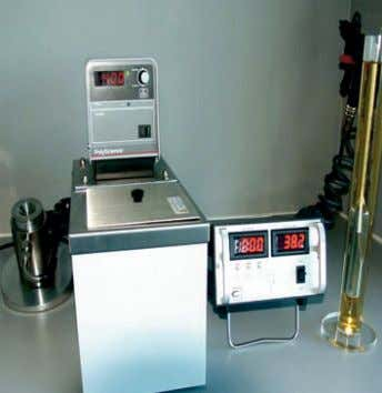 Framo test laboratory Karl Fisher water test equipment Viscosity and density test equipment Condition based