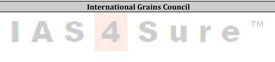 International Grains Council