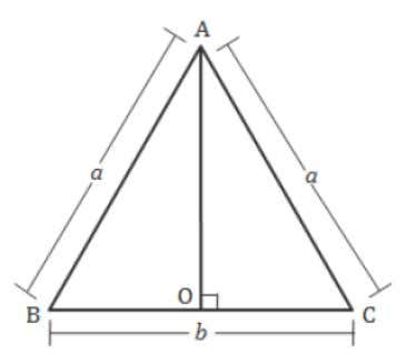 For Equilateral Triangle Area = For Isosceles Triangle Area = 38. Apollonius Theorem If AD is