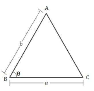 = When lengths of two sides and the included angle are given Area = Quantitative Aptitude