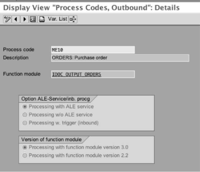INBOUND OPTIONS (INBOUND PARAMETERS) For inbound options process code is maintained in the Inbound screen