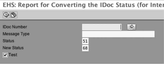 to move an IDoc to status 68 – no further processing SEARCHING IDOCS IN SAP TCODE