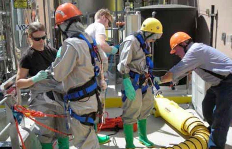 14 tRaInIng ^ Training always saves lives. There is a statutory requirement for drills to be