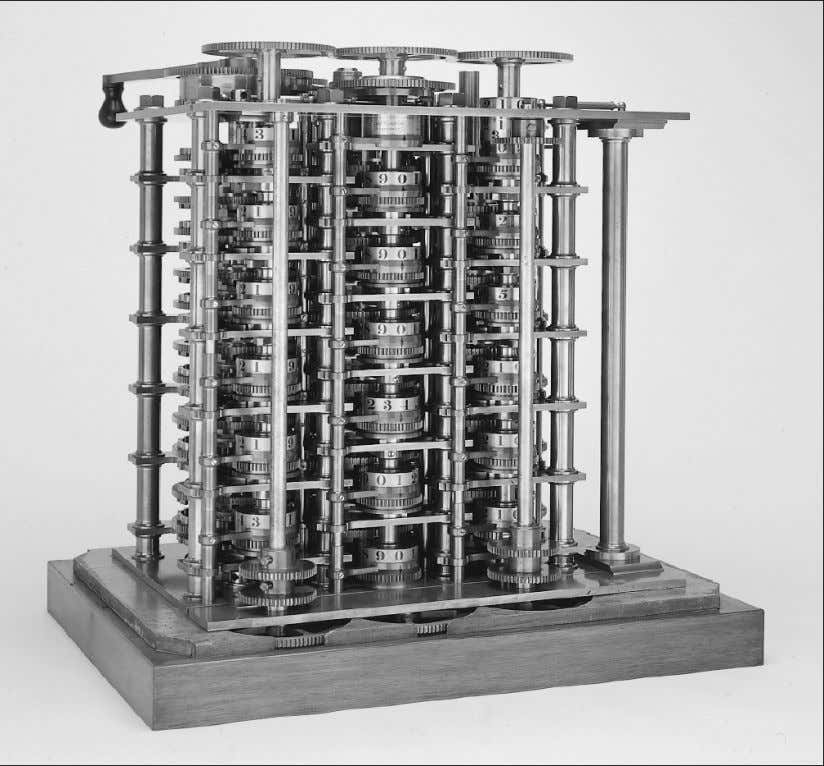 History The First Computer Problem: Too complex and expensive! The Babbage Difference Engine (1832) 25,000 parts