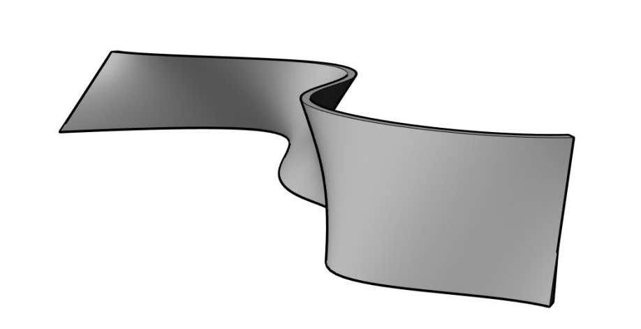 element. These limitations turn the workflow impossible . Figure 2: Double-curved concrete wall by face Figure