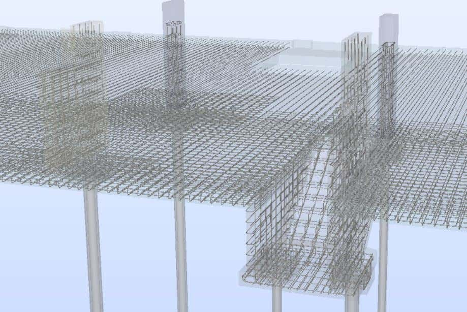Rebar Modeling in Revit Håvard Vasshaug, Dark Figure 92: Exported IFC model with reinforcement, viewed in