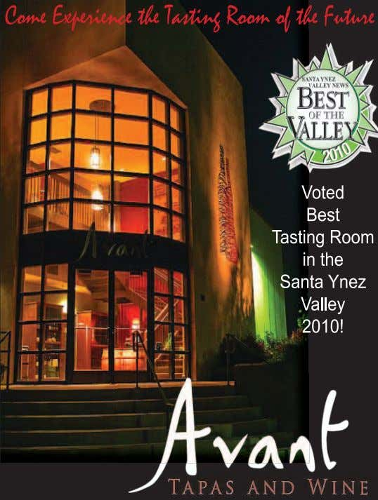JANUARY 2013 WINE COUNTRY THIS MONTH Find out more at www.WineCountryThisMonth.com 7