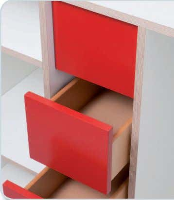rails. The interior panels are availa- ble in red, black, white, silver or any other of