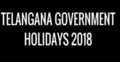 Bulletin January 2018 133 Issue National Holiday for 2018 declared in Telangana Find attached the notification