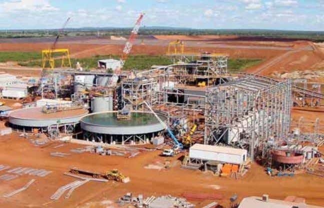 Operations The Buzwagi mine in Tanzania was commissioned in May 2009 on time and on budget