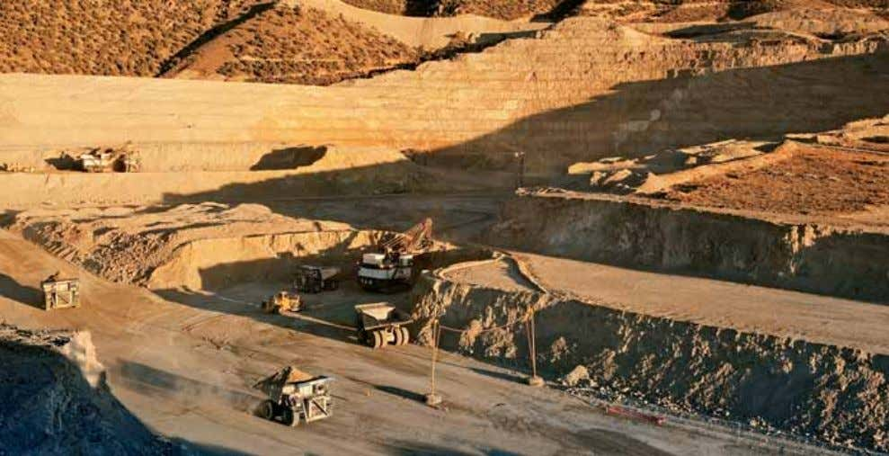 Projects in Construction Cortez Hills is expected to materially benefit Barrick's overall production and cost profile.