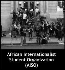 African Internationalist Student Organization (AISO)