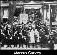 throats, engaged in the first imperialist world war. Marcus Garvey built a massive anti- imperialist movement