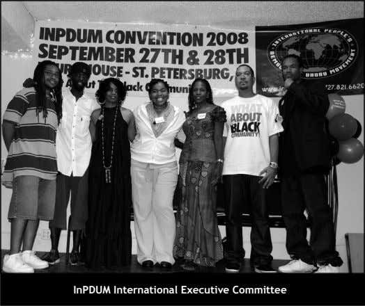 InPDUM International Executive Committee