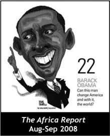 The Africa Report Aug-Sep 2008