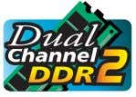 the direction. 1-4-1 Dual Channel Memory Configuration The two DDR2 memory sockets are divided into two