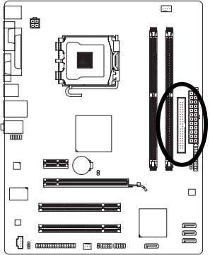 read the instructions from the device manufacturers.) 7) 40 2 39 1 SATAII0/1/2/3 (SATA 3Gb/s Connectors,