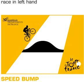 race in left hand SPEED BUMP