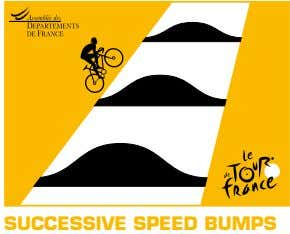 SUCCESSIVE SPEED BUMPS