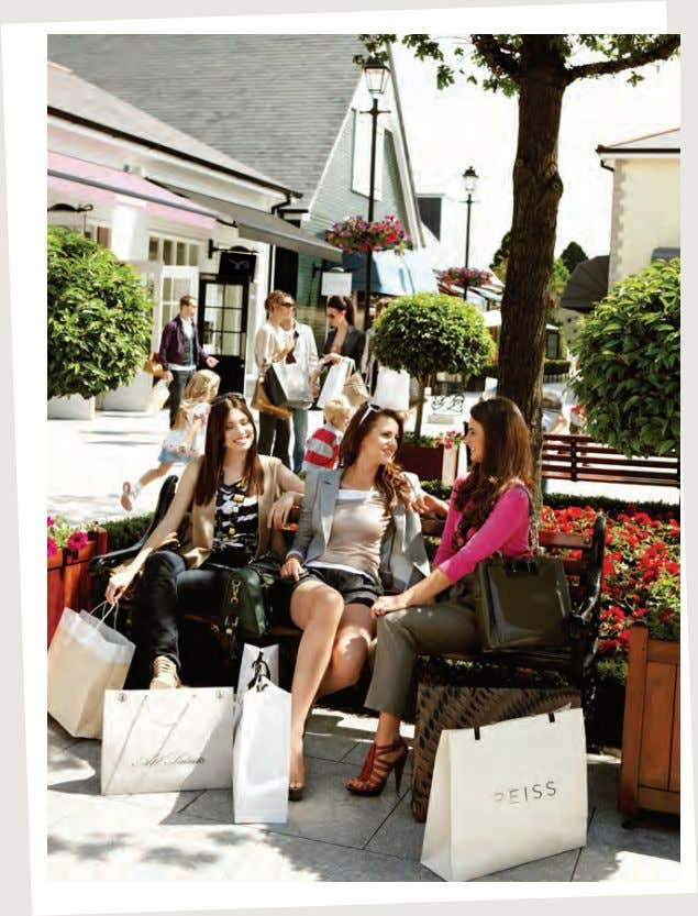 © Kildare Village 2013 08/13 Day TRIP to CHIC Ireland's luxury outlet shoppIng experIence wIth exceptIonal